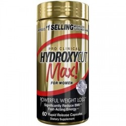Hydroxycut Max for Womens 60 capsules